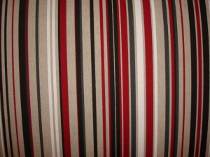 French Settee fabric up close